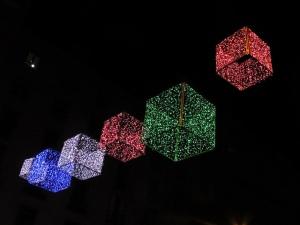 Luces LED en la calle Goya, Madrid. |Foto de: Jacinta Lluch. Algunos derechos reservados