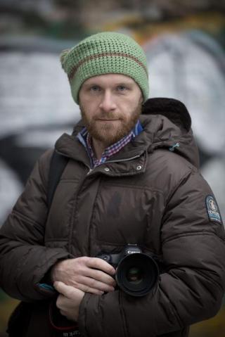 Denis Sinyakov. Foto de Greenpeace. Todos los derechos reservados