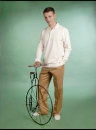 Pantalón pinzas, 78€. |Foto en: http://www.foxfibrecolorganic.com/