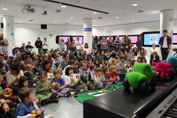 Evento de Minimúsica en Madrid. |Foto por: Espacio CAMON |Algunos derechos reservados.