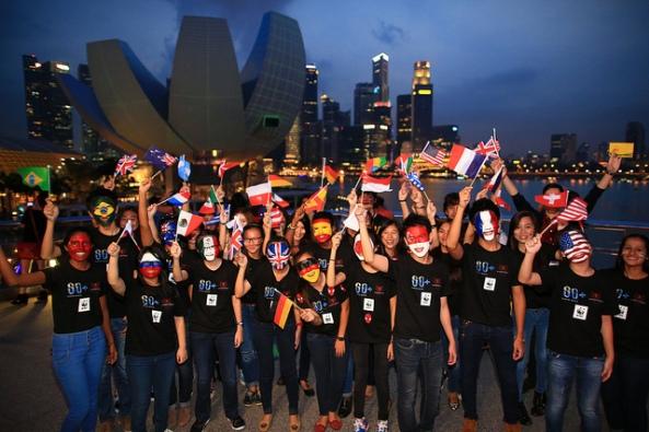 Singapur |Foto por: Earth Hour |Algunos derechos reservados